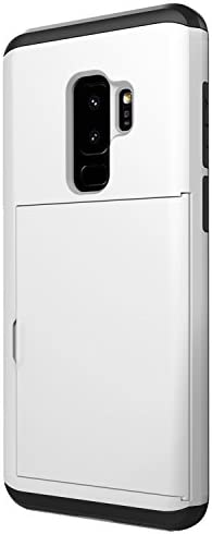 Galaxy S9 Plus Card Holder Case Card Slot Dual Layer Protective Wallet Case for Samsung Galaxy S9 Plus