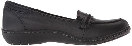 Skechers , Moccasin femme Noir