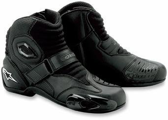 - Alpinestars S-MX 1 Boots , Distinct Name: Black, Gender: Mens/Unisex, Size: 9.5, Primary Color: Black 2224012-10-44