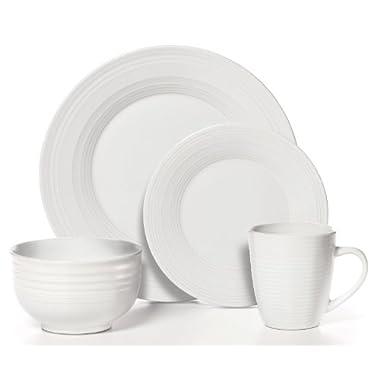 Pfaltzgraff 16-pc. Sierra White Dinnerware Set