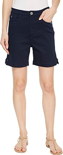 (FDJ French Dressing Jeans Women's Sunset Hues Suzanne Shorts in Navy Navy 10 6 )