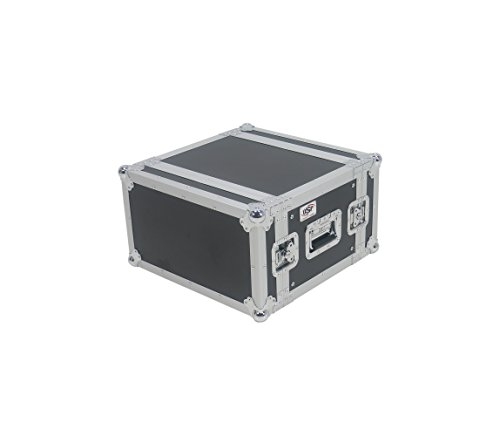 Shock Mount 6 Space Rack (OSP Cases | ATA Road Case | 6-Space Effects Rack | 14