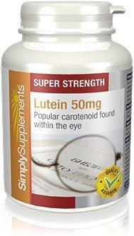 Luteína 50 mg - 60 cápsulas - Hasta 2 meses de suministro - Contra el daño