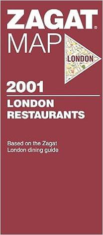 Zagat London Map (2001) (Zagat Map: London): Zagat Survey ... on