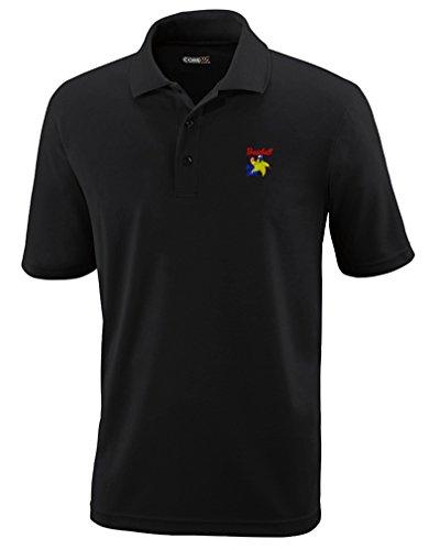 Speedy Pros Sport Baseball All Star Embroidery Performance Polo Shirt Golf Shirt - Black, Medium All Star Embroidered Jersey
