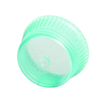 Bio Plas 6715 16mm Uni-Flex Safety Caps for Culture Tubes and Test Tubes, Green (Pack of 1000)