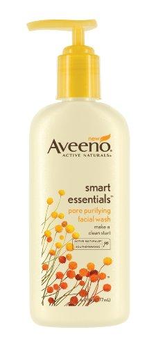 Aveeno Smart Essentials Pore Purifying Facial Wash, 6  Ounce (Pack of 2)