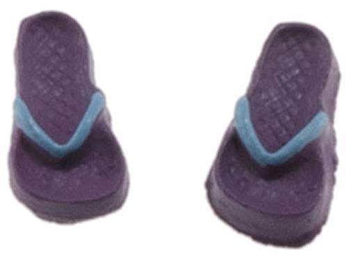 Melody Jane Dolls Houses House Miniature Summer Beach Accessory Childs Flip Flops Sandals Shoes