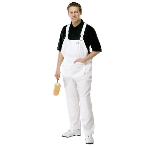 New Mens Zip Boilersuit Overall Coverall Work Painters Decorators White 36-50/'/'