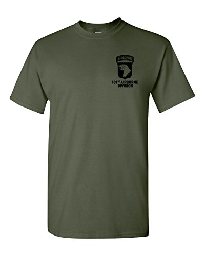 101st Airborne Division Army Military Green T-Shirt USA (Military Green, ()