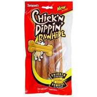 Chick'n Dippin' Rawhide Munchy Sticks, 4-Count, My Pet Supplies