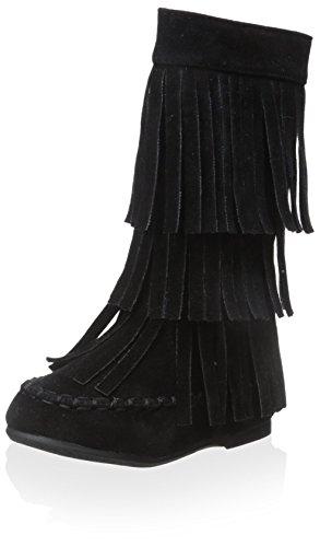 Yoki Kid's Ava Boot - Black - 10 M US Toddler