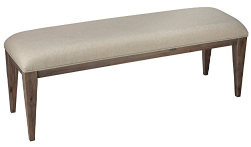 Cortesi Home Leno Bench with Neutral Linen Fabric by Cortesi Home (Image #2)