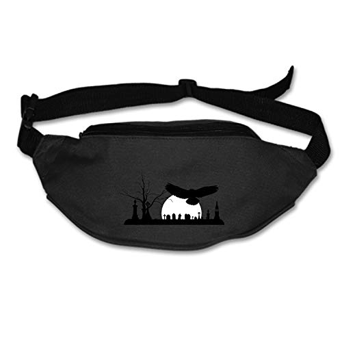 Christopher Macadam Money Belt for Travel Running Waist Pack Graveyard Fanny Pack ()