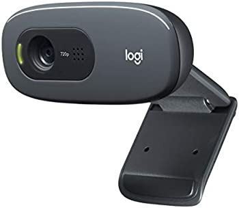 Logitech C270 Desktop Or Laptop HD 720p Widescreen Webcam