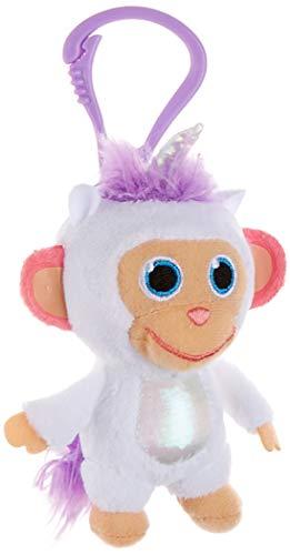 JOY TOY Wonderpark 31056 Plush Clip On Toy 8 cm Unicorn Multi-Coloured