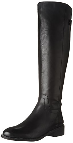 Franco Sarto Women's Brindley Equestrian Boot, Black, 8 M US by Franco Sarto