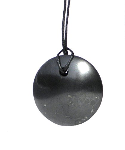 Karelia Shungite Pendant. EMF Protection Stone. Genuine Shungite and Highest Quality Guarantee.