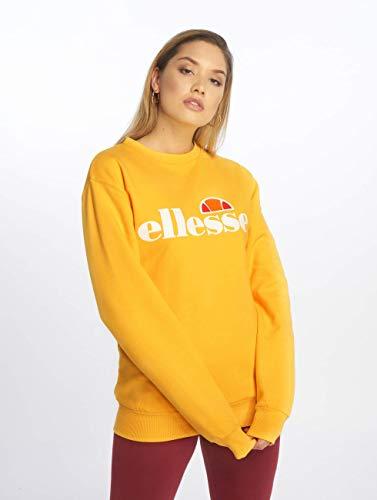 Ellesse Mujer Yellow Sweatshirt Agata Sudadera SqzwxfSr