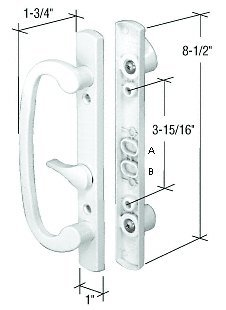 Crl mortise style sliding glass patio door handle set 3 1516 crl mortise style sliding glass patio door handle set 3 1516quot planetlyrics Gallery