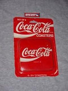 coaster na Coca Cola Bottle Evolution cork backed drinks mat