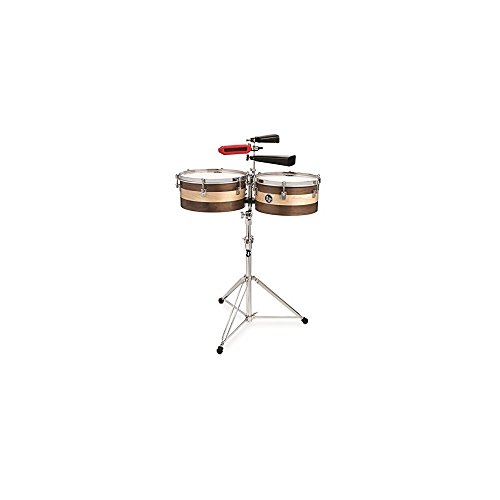 LP M1314-SE Matador 13''/14'' Sheila E Signature Series Wood Timbale Set by Latin Percussion