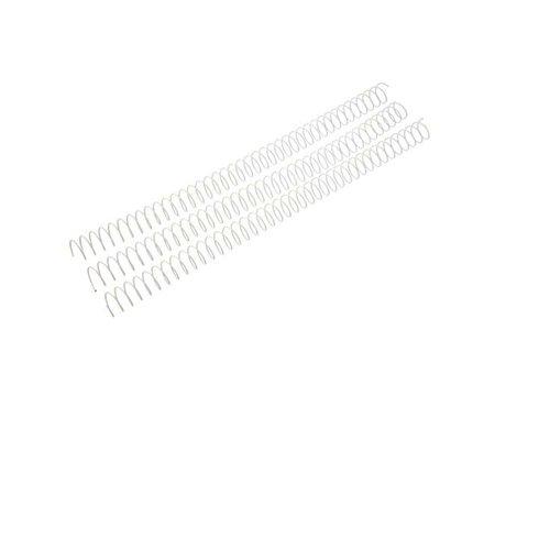 blanc /Pack de 100/Peignes m/étalliques Fellowes 53150/ 20/mm