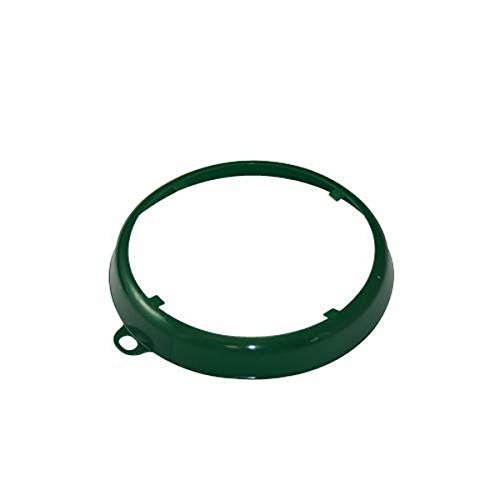 OIL SAFE 207003 Color Coded Drum Ring, Dark Green