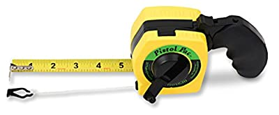 Measure & Snap Your Chalk-line With One Comfortable Tool. Great For Layout On Floors, Roofs, & Framing. Free Battery for Built-in Light. Replaces Your Tape Measure & Chalk Line. Your Tool Belt Loses 1/2 lb & Clears Tool Box Space Too.