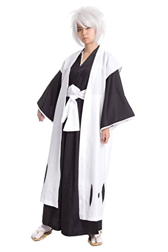 [Cuterole Hitsugaya Toushirou Kimono Uniform Bleach Cosplay Costume] (Hitsugaya Cosplay Costume)