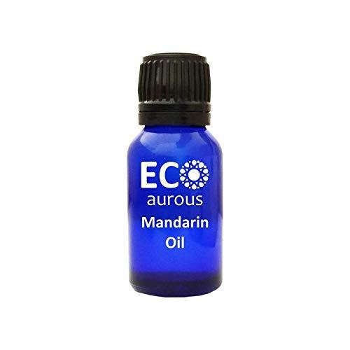 Mandarin Oil (Citrus reticulata) 100% Natural, Organic, Vegan & Cruelty Free Mandarin Essential Oil | Pure Mandarin Oil By Eco Aurous (0.50 OZ, 15 ML) (Essential Reticulata Oil Citrus)