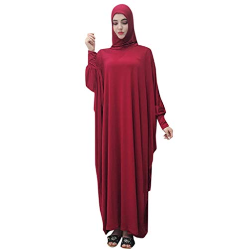 Muslim Dress Dubai Kaftan for Women Long Sleeve Long Dress Large-Scale Mosque Lace Robes Dubai Cardigan Ramadan]()