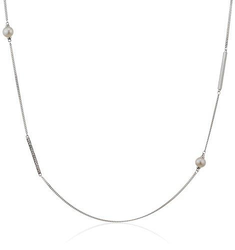 caï Femme  925  Argent|#Silver   Perles de culture d'eau douce Blanc Topaze