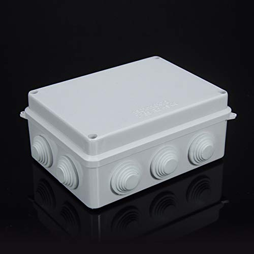 Sunnyglade Plastic Waterproof Dustproof Junction Box DIY Case Enclosure (5.9