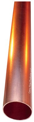 Cerro Flow Products 01538 Commercial Hard Copper Tube, Type L, 0.5-In. x 5-Ft. - Quantity 10 by Cerro Flow Products