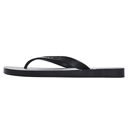 Dear Time Mens Flip Flops Slip On Slippers Beach Thong Flat Sandals Black Mv132Tj