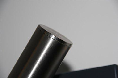 Pasamanos de acero inoxidable V2/A 42,4/mm 240/K pulido pared pasamanos hasta 6/metros