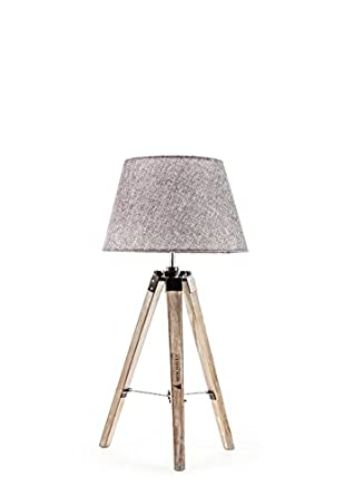 New Haven   Rustic Table Tripod Lamp   Small