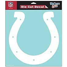 Indianapolis Colts NFL Vinyl Die Cut Window Decal Auto Car Logo White 8x8 ...