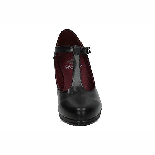 Zapatos 37 10527 Negros Tacones Negro In Altos Mujer Made Spain Tacón pZfq0wv1T