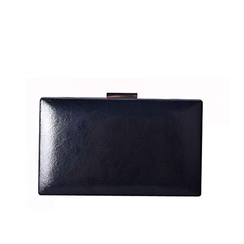 bag Mag dot stylish Bag Elegant NEW Clutches Women's Black hand lock twist Messenger 8Bw6wOqx