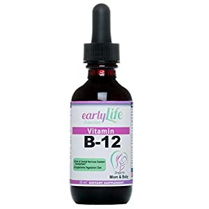 earlyLife Vitamin B-12 Drops for Mom and Baby (2 OZ)