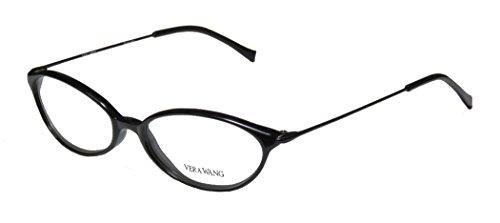 Vera Wang V11 Womens/Ladies Prescription Ready Hip & Chic Designer Full-rim Eyeglasses/Eyeglass Frame (49-16-135, - Glasses Designer Inexpensive