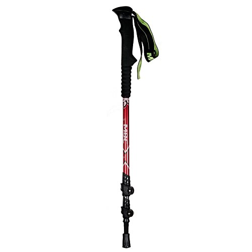 HealthPro MBC-M3710Q Aluminum Professional Trekking Pole Walking Stick Single