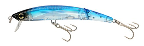 Yo-Zuri Crystal 3D Minnow Jointed Floating Lure, Blue Tiger, 5-1/4-Inch
