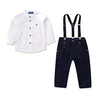 Amazon.com: OBEEII - Traje formal para pasteles, camisa ...
