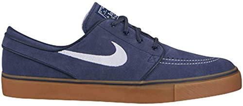Nike Men's SB Blazer Zoom Low XT Skate Shoe (8 D(M) US, Obsidian/White/Gum)