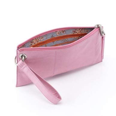 Hobo Womens Leather Vintage Vida Clutch Wallet (Lilac)