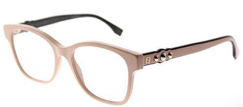 Fendi FF 0276 35J Pink Plastic Square Eyeglasses 51mm by Fendi