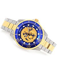 Invicta Dragon - Invicta Men's 47mm Grand Diver Dragon Automatic Stainless Steel Bracelet Watch
